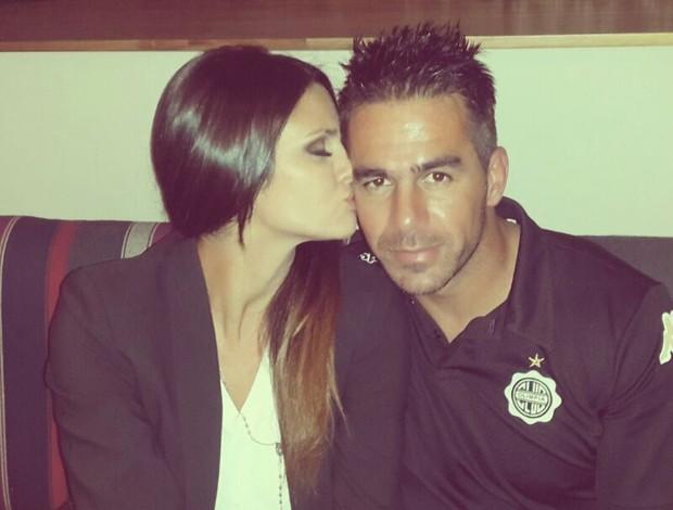 Atleta Leryn Franco e seu namorado Ivan Almeida (Foto: Reprodução Instagram)