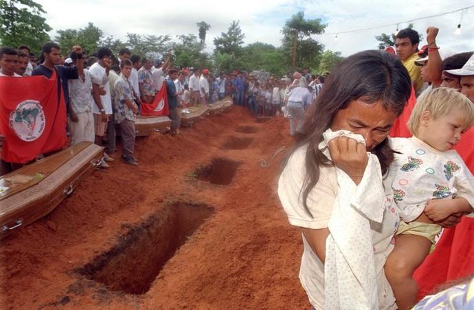 Massacre de Eldorado dos Carajás (PA), 1996 (Foto: Jorge Araújo)