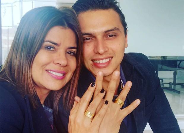 Mara Maravilha e Gabriel Torres (Foto: Reprodução/Instagram)