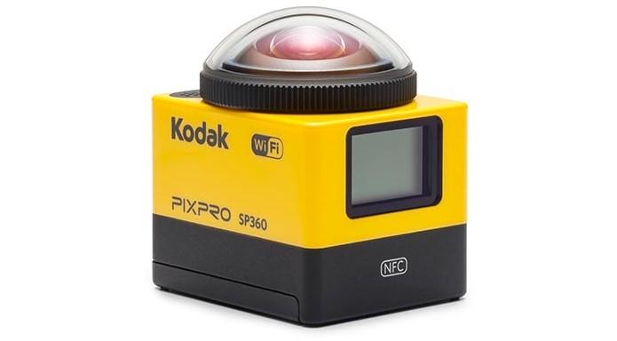 PixPro SP360, câmera de ação da Kodak (Foto: Divulgação/Kodak) (Foto: PixPro SP360, câmera de ação da Kodak (Foto: Divulgação/Kodak))