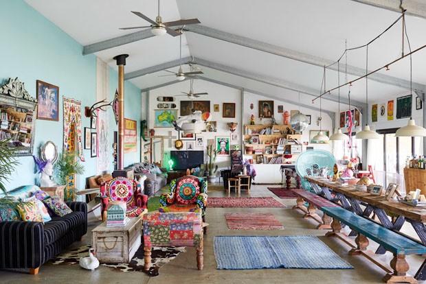 Uma casa colorida feita para divertir os moradores (Foto: AM/Divulgação)