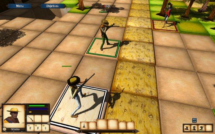 Cangaço, da Sertão Games, é lançado no primeiro dia da loja Splitplay (Foto: Divulgação)