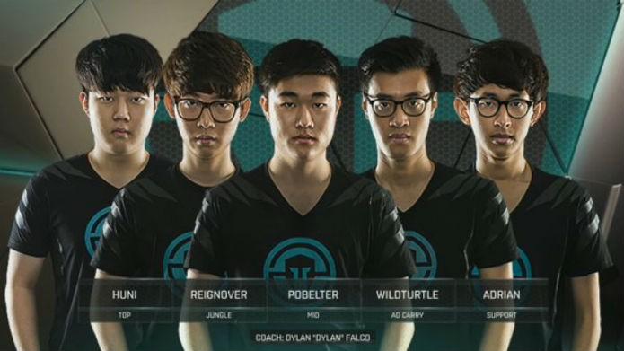 Os jogadores do time Immortals (Foto: Reprodução/ Esportspedia)