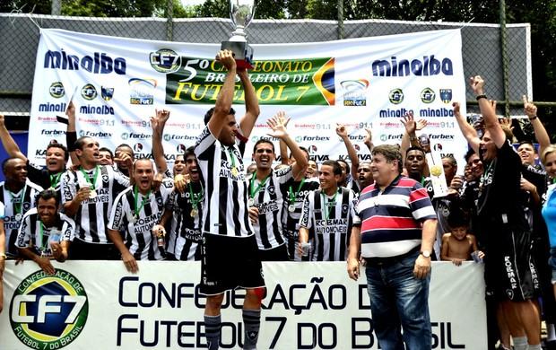 Botafogo fecha o ano de 2012 com chave de ouro com mais um troféu (Foto: Davi Pereira/Divulgação)