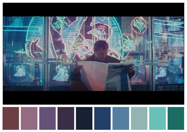 Ridley Scott, fotografia de Jordan Cronenweth, produção de set de Lawrence G. Paull, e direção de arte de David L. Snyder (Foto: Reprodução)