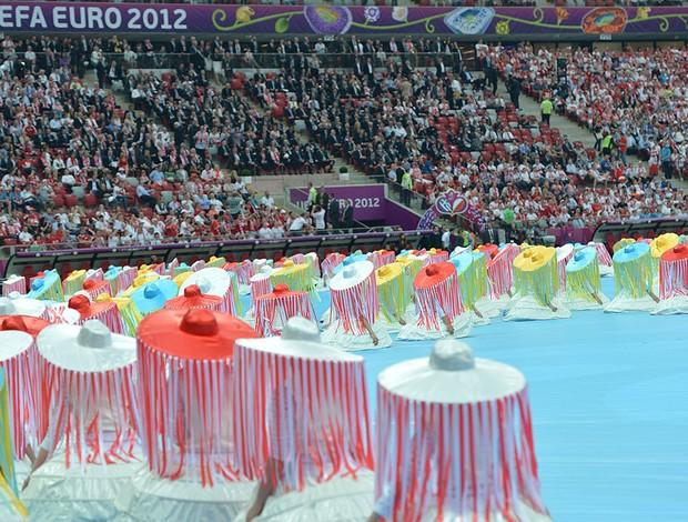 Abertura da Eurocopa (Foto: Agência AFP)