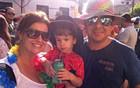 Família se diverte no 'Luxo' (Diana Vasconcelos/G1 Ceará)
