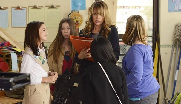 Julie Sterling (Jessalyn Gilsig) vai descobrir importantes lições sobre amizade e amor (Foto: Divulgação/Reprodução)