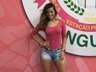 Renata Santos diminui ritmo da malhação por problema de saúde