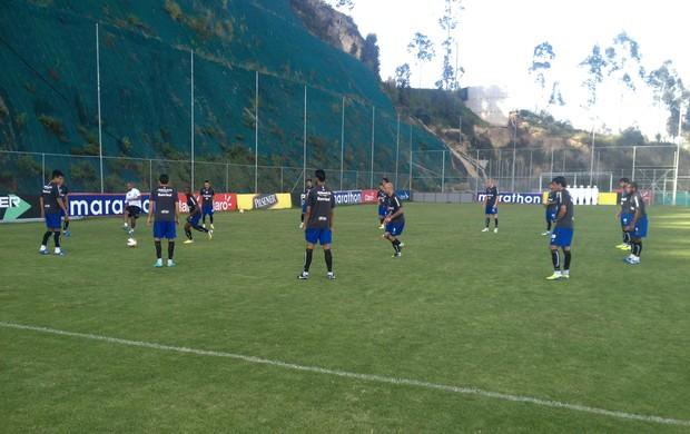 Grêmio treina em Quito (Foto: Vitor Rodriguez /Divulgação, Grêmio)