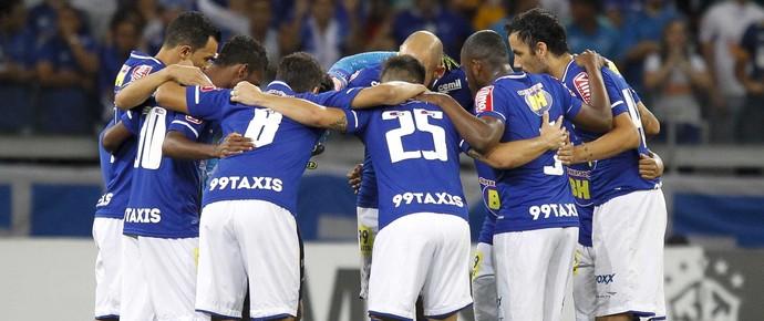 Jogadores do Cruzeiro  (Foto: Washington Alves/Light Press)