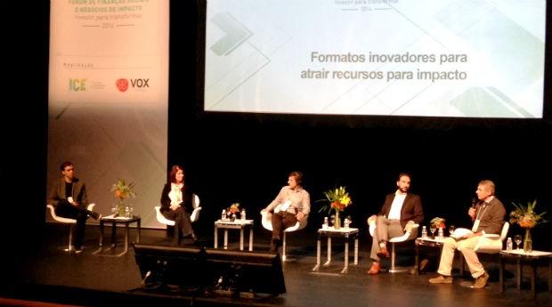 Fórum de Finanças Sociais e Negócios de Impacto 2016, em São Paulo (Foto: PEGN)