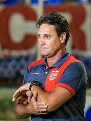 João Brigatti, auxiliar técnico do CRB (Foto: Ailton Cruz / Gazeta de Alagoas)