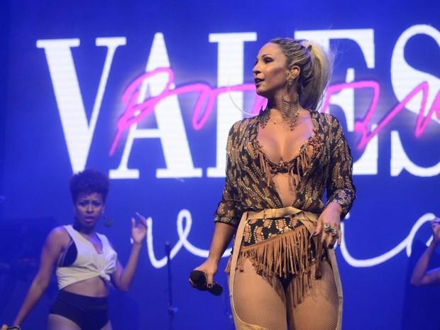Valesca Popozuda em show na Zona Oeste do Rio (Foto: Evandro Tavares/ Barra Music/ Divulgação)