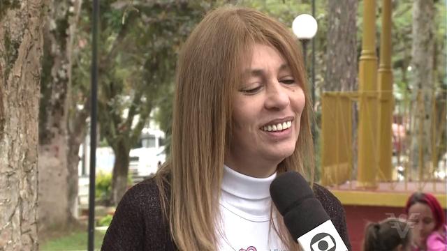 Katia Garcia, Vale do Ribeira (Foto: Reprodução/TV Tribuna)