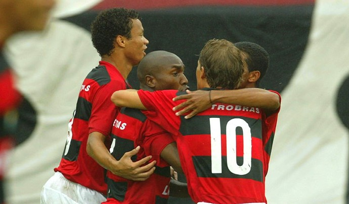 Marcos Denner, Flamengo 2005 (Foto: Agência O Globo)