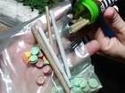 Estudante é flagrado com cigarros de maconha e ecstasy em Mato Grosso
