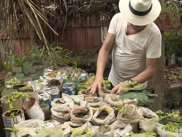 Projeto Casa Saudável melhora condições de saneamento básico de comunidades do interior do Maranhão (Foto: Reprodução de TV)