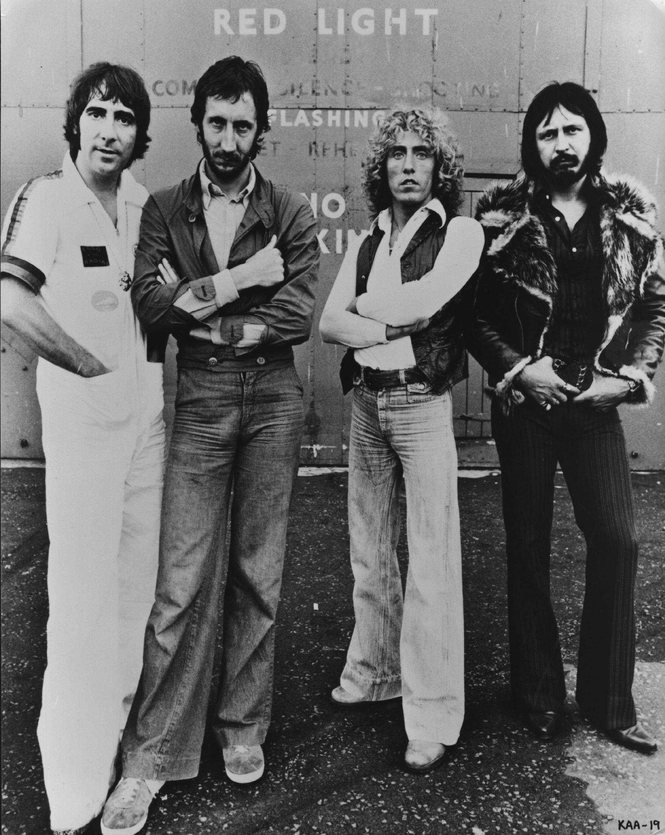 A formação clássica do The Who, com Keith Moon, Pete Townshend, Roger Daltrey e John Entwistle (Foto: Getty Images)