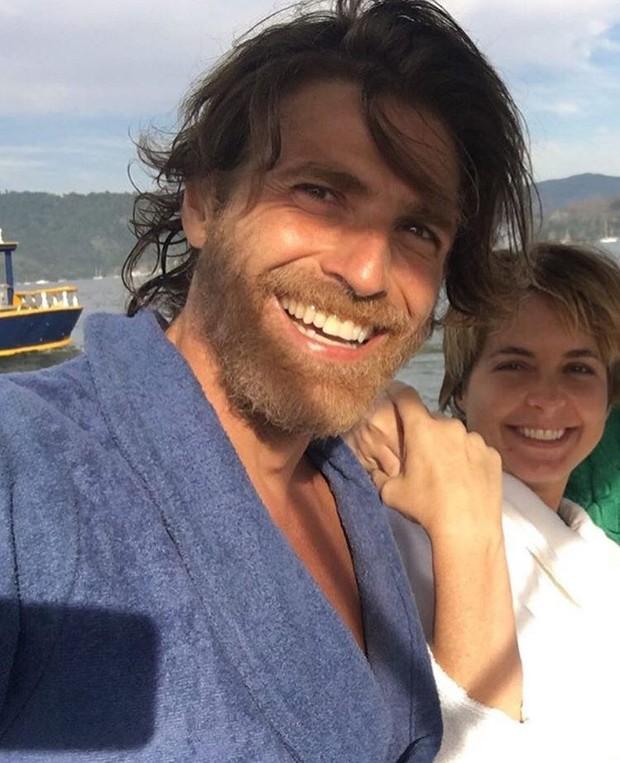 Reynaldo Gianecchini e Cláudia Abreu (Foto: Instagram / Reprodução)