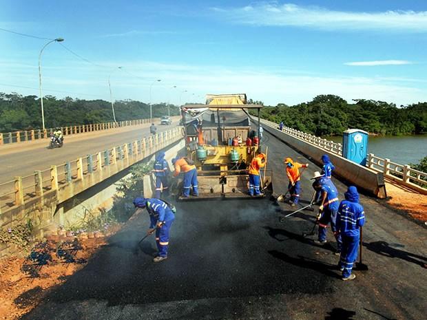 Ponte Mário Andreazza (Foto: Edson Rodrigues/Secopa)