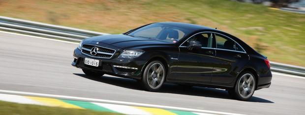 Mercedes Benz CLS 63 AMG (Foto: Divulgação)
