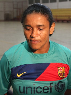 Laura Alice, professora de educação física, é uma das idealizadoras da Copa Madeira Mamoré (Foto: Larissa Vieira/GLOBOESPORTE.COM)