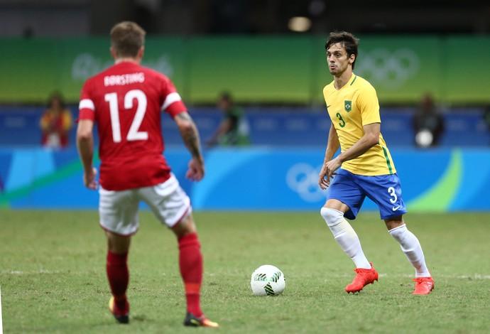 Rodrigo Caio Brasil x Dinamarca (Foto: Lucas Figueiredo / MoWA Press)