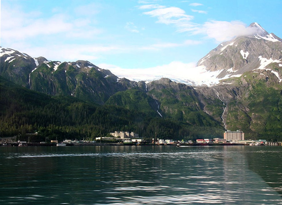 Whittier, Alasca (Foto: Wikimedia Commons)