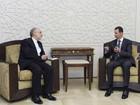 Chefe da diplomacia iraniana pede resposta contra Israel na Síria