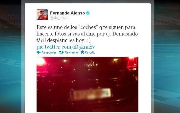 twitter Alonso carro seguidores (Foto: Reprodução / Twitter)