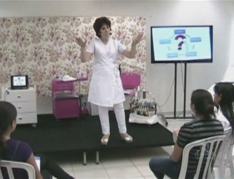 Workshop foi desenvolvido para o aperfeiçoamento dos profissionais (Foto: Amazônia TV)