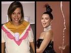 Luisa Mell compara barriga de grávida a bumbum de Kim Kardashian