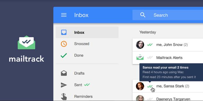 Mailtrack passa a funcionar no Inbox by Gmail (Foto: Divulgação/Mailtrack)