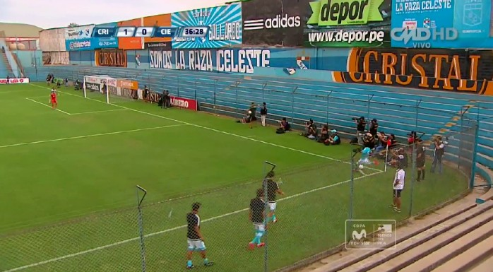 Lobatón gol olímpico Sporting Cristal