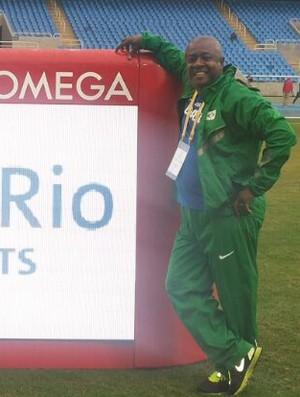 Jorginho Massagista, Jogos Ibero Americanos, Rio 2016 (Foto: Jorge Antônio Lima / Arquivo Pessoal)