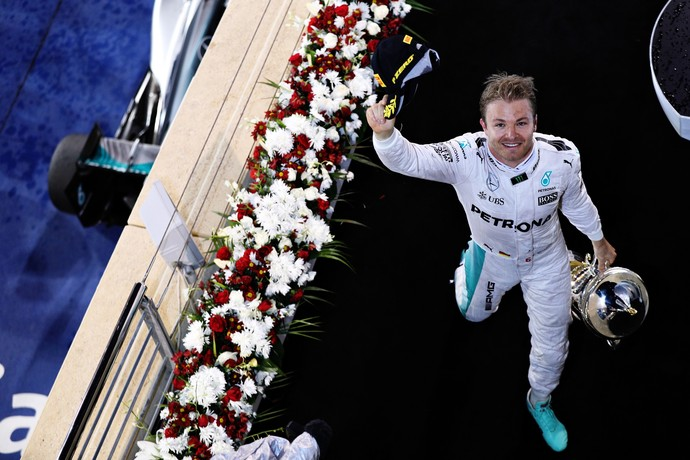 Nico Rosberg vence GP do Bahrein (Foto: Getty Images)