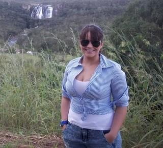 Cuca Amorim com 75kg (Foto: Arquivo pessoal)