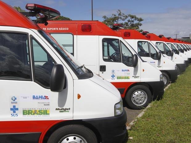 Segundo o governo, na Bahia, o atendimento do Samu cobre 269 cidades. (Foto: Alberto Coutinho/ GOVBA)