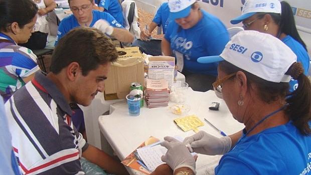 Ação Global nacional Mulheres: Sousa, paraíba (Foto: Divulgação)