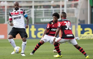 Santa Cruz x Flamengo (Foto: Miguel Schincariol / Estadão Conteúdo)
