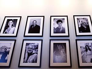 Estrelas da novela ganham exposição no hotel (Foto: Pedro Curi / TV Globo)
