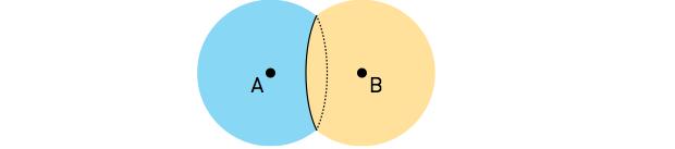 Esquema de bolhas unidas (Foto: Reprodução/UERJ)