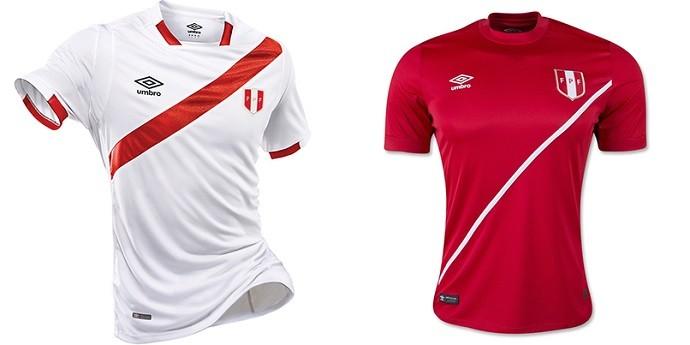 Camisa Peru Copa América Centenario