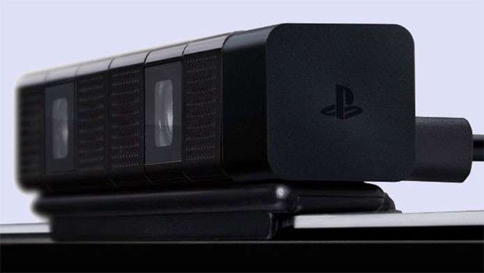 Visão próxima da câmera do PS4 (Foto: Divulgação/Sony)