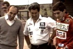 """Último patrão, Frank Williams exalta Ayrton Senna: """"Poderia ser presidente do Brasil"""" (Reprodução / Youtube)"""