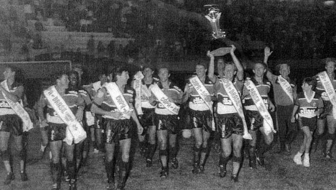 Criciúma Copa do Brasil 1991 Felipão (Foto: Criciúma/Arquivo pessoal)