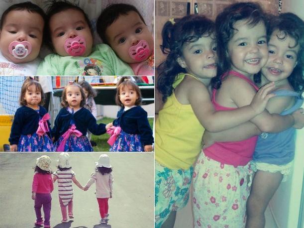 Amor de irmãs (Foto: Pamela Nunes de Lara/Arquivo pessoal)
