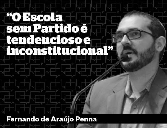 Escola Sem Partido - Fernando Penna (Foto: Divulgação/Época)