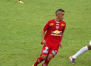 Lauro, atacante do Noroeste, no jogo contra a Francana, pela Série A3 2014 (Foto: Sérgio Pais)
